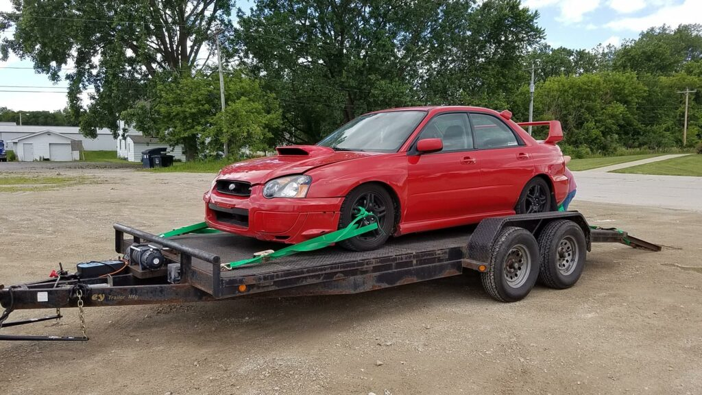 2004 WRX Donor Car